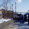 В Омске из дома, на который упал кран эвакуировали жильцов