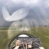 Во время авиашоу на Дне города в Омске пилот сделал фото города