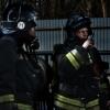 Омичи спасли из горящего дома двоих детей