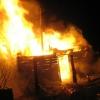 Двух молодых омичей подозревают в поджоге бани