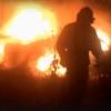 В сгоревшей машине в Омске был человек
