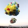 На день города в небо поднимут дом на воздушных шариках