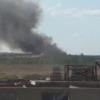 Из-за горящей омской свалки в воздухе обнаружили вредные вещества