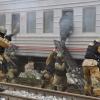 """В Омске пригородный вокзал """"захватили террористы"""""""
