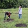 В «Птичьей гавани» омичи высадили около 500 деревьев