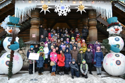 80 детей из Омской области вернулись с Кремлевской елки