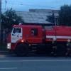 Ночью в Октябрьском округе Омска пожарные полчаса тушили пожар в жилом доме