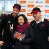 Пережогин и Фурх наградили победителей акции «Болеем за наших»
