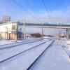 В Омске мужчина не ушел с путей после гудка поезда
