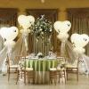 Воздушные шарики для оформления свадьбы