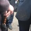 Мэр Омска показала, что не боится дождя и грязи
