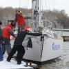 Омская яхта «Сибирь» спущена на воду для новой кругосветки