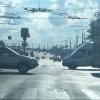 В Омске по ночам ремонтируют Ленинградскую площадь