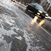Омских водителей предупреждают об осадках и гололеде