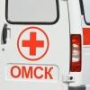 В Омске водитель маршрутки врезался в КамАЗ
