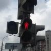 В Омске мужчина на «Киа-Рио» сбыл женщину на регулируемом пешеходном переходе