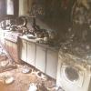 Омичей просят помочь погорельцам, лишившимся имущества во время пожара на Удалова