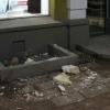 В Омске со здания на улице Ленина обрушилась лепнина