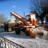 Омские дорожники вывезли рекордное количество снега