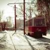 В Омске четвертый московский трамвай вышел на маршрут