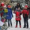 Юные жители Омской области побывали в резиденции Деда Мороза