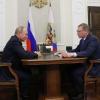 Путин позитивно оценил работу Буркова в Омской области