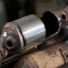 Удаление катализатора и установка пламегасителя