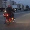Омские полицейские устроили погоню за пьяным мотоциклистом