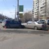 В Омске на улице Дианова случилось тройное ДТП