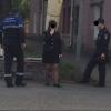 Омич сфотографировал курящих полицейских возле пункта «Октябрьский»