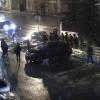 В центре Омска лихач не успел проскочить на «красный»