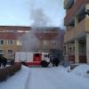 В омской БСМП-1 случился пожар