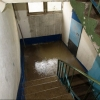 В одном из домов Омска затопило подъезд из-за дождевой трубы