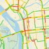 По Омску растянулись пятничные многокилометровые пробки