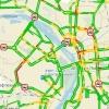 В Омске опять проблемы на дорогах из-за снегопада