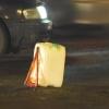 В Омской области водитель на иномарке переехал лежащего на дороге мужчину