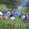 Омских учителей отправили жить в палатки