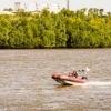 Чета омичей-рыболовов застряла на острове со сломанной лодкой
