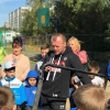 Александр Шлеменко открыл новую спортплощадку в Омске