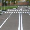 На омских магистралях обновят дорожную разметку за 9 миллионов рублей