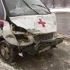 """В Омске """"скорая помощь"""" угодила в аварию со своими пассажирами"""