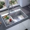 Преимущества прямоугольной мойки для кухни
