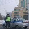 В Омской области за вымогательство взяток около здания полиции задержан инспектор ДПС