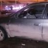 На парковке у «Атриума» неизвестные разбили машину омичей, отправившихся в кино