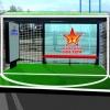 В Омске появится остановка, стилизованная под футбольные ворота