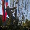 В День Победа омичи ломали деревья и топтали цветы на клумбах