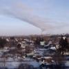 В Омске прошёл чёрный снегопад