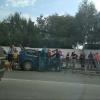 Омский водитель «Мерседеса» попавший в ДТП на Герцена, рулил в гипсе