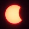Омичи сфотографировали частичное солнечное затмение