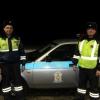 Полицейские в омском регионе остановили горящий КамАЗ